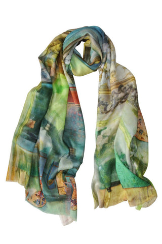 La Farmacia - (Cotton/Silk/Cashmere) Scarf