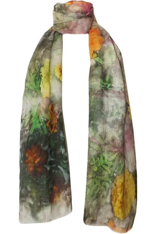 Pazuki | SALE | Living Wall | Linen Cotton Scarf