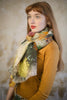 Pazuki | SALE | Living Wall | Linen Cotton Scarf - Model Shot 1