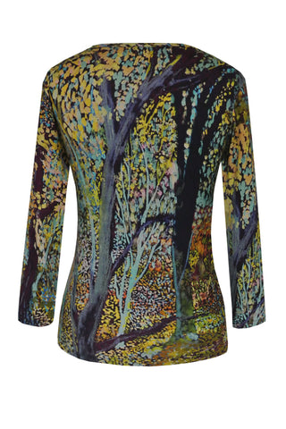 Woodland Rust - Jersey Long Sleeve Top