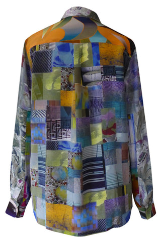 Patchwork - Crepe de Chine Shirt