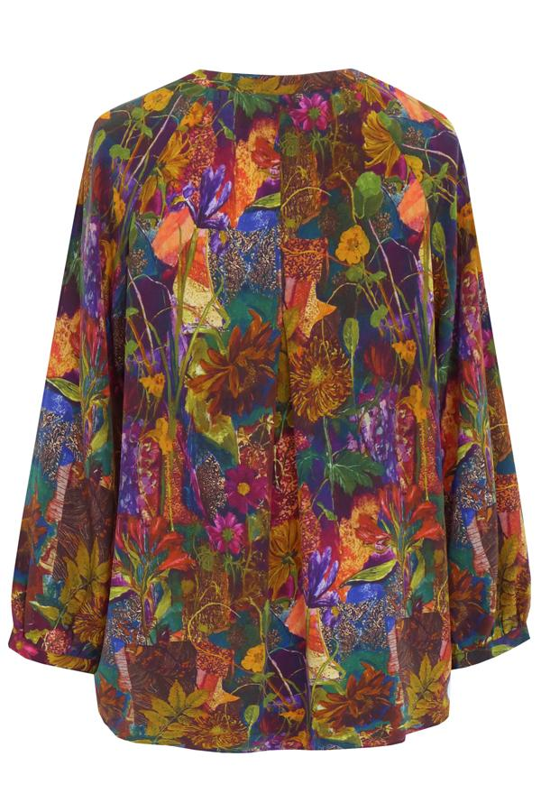 Pazuki | AW19 | Luna Secret Garden Tunic Shirt