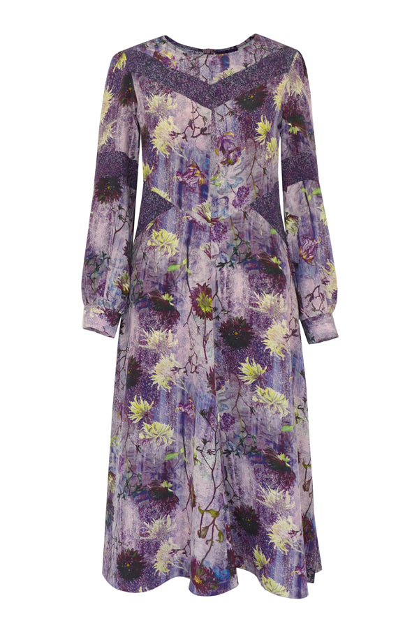 Pazuki | AW19 | Diana Tapestry Panelled Dress
