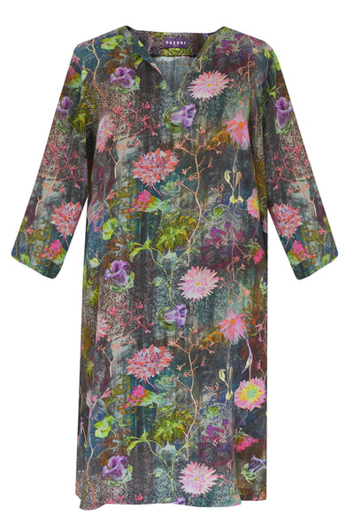 Pazuki | AW19 | Tapestry Pink Tunic Dress