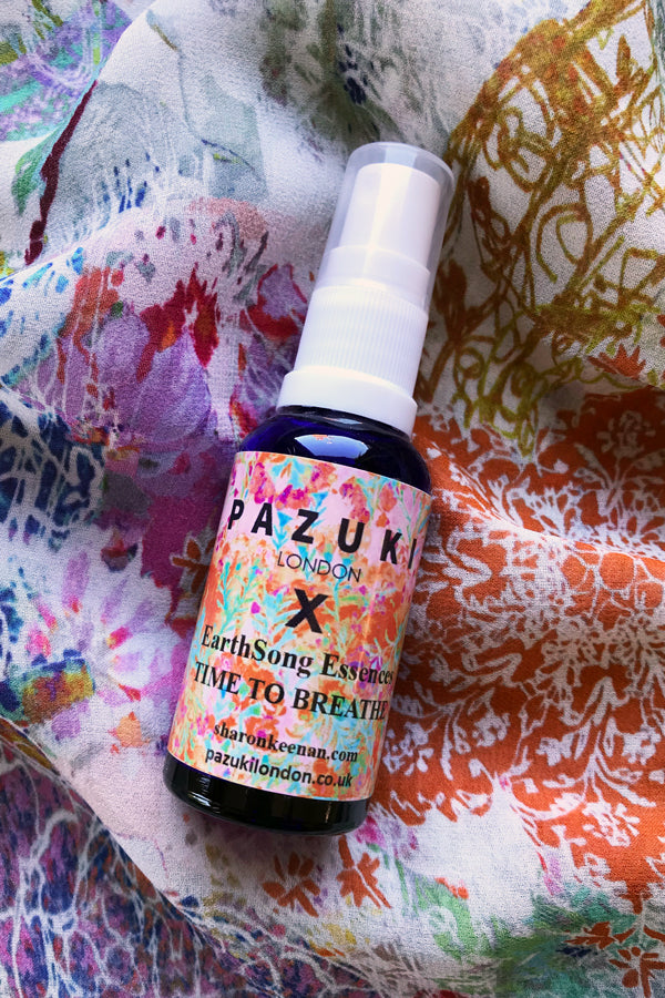 PAZUKI X TIME TO BREATHE - EarthSong Essence