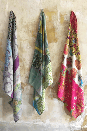 Pure Silk Patchwork Scarves