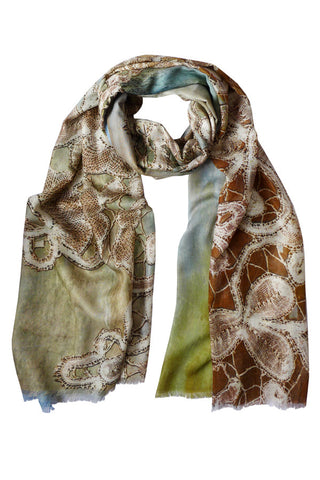 Antique Lace - (Modal/Cashmere) Scarf