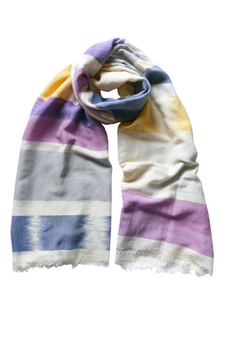 IKAT - (Cotton/Silk) Scarf