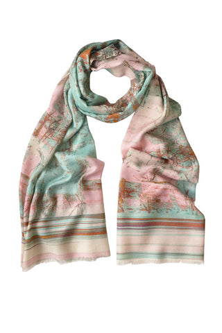 Treehouse - (Cotton/Silk/Cashmere) Scarf