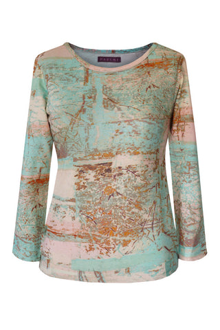 Treehouse - Cotton Jersey Long Sleeve Top