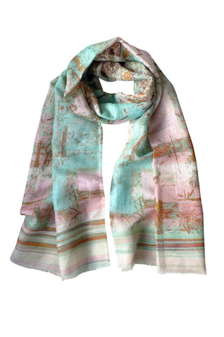 Treehouse - (Linen/Cotton) Scarf