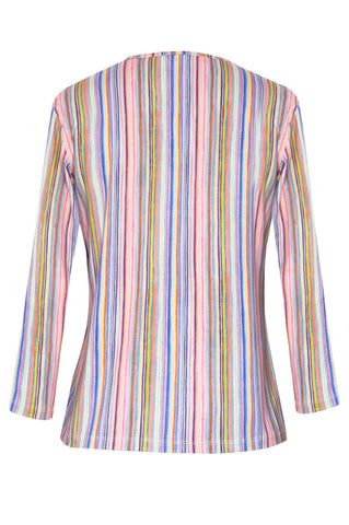 Stripe Pastel - Jersey Long Sleeve Top
