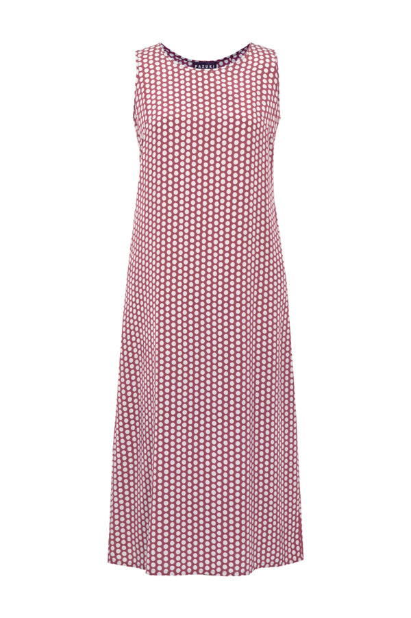 Pazuki | SS19 | Polka Dot | Sleeveless Dress - Front