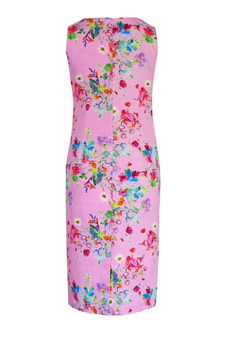 Floris Pink - Stretch Cotton Dress