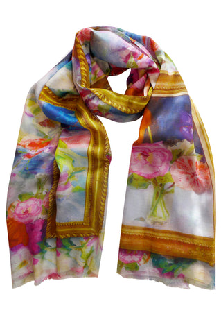 Parlour - (Cotton/Silk) Scarf