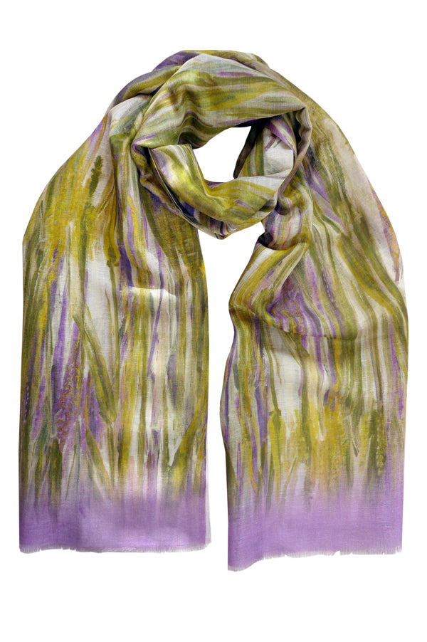 Pazuki | SS19 | Linen Cotton - Wheat Lilac - SCARF