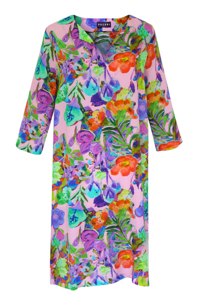 Athena Dream Pink Tunic Dress