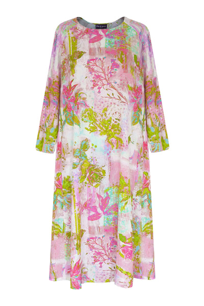 Justitia Lily & Rose Patch Pink Trapeze Dress