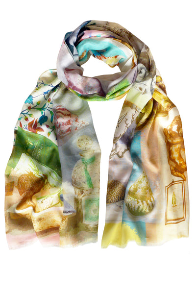 Splash Multi 100% Cotton Scarf