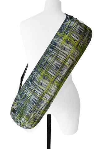 Mesh Lime - Printed Yoga Bag