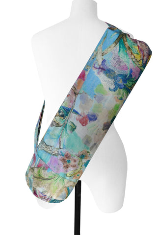 Parrot Blue - Printed Yoga Bag