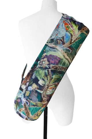 Parrot Green - Printed Yoga Bag