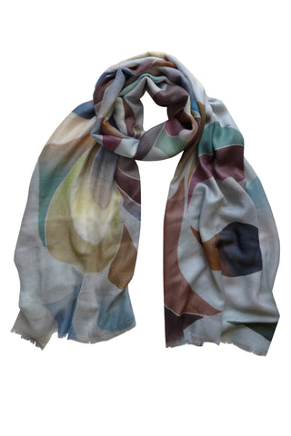 Eclipse Neutral - (Modal Cashmere) Scarf