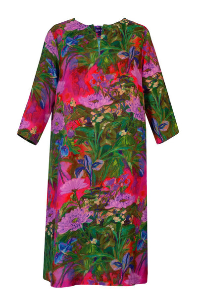 Athena Kiku Pink Tunic Dress