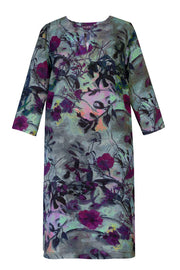 Athena Shangri La Plum Tunic Dress