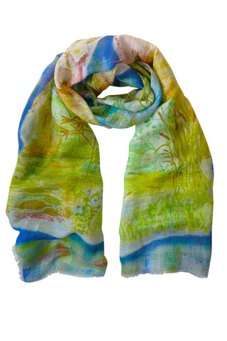 Dragonfly - (Linen/Cotton) Scarf