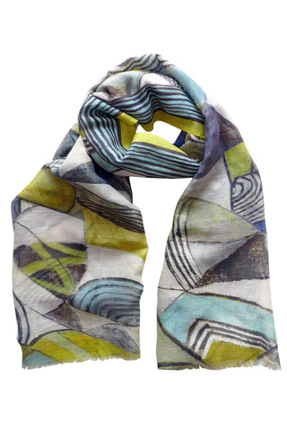 Ebb & Flow - (Linen/Cotton) Scarf