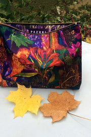 Secret Garden Silk Satin Bag