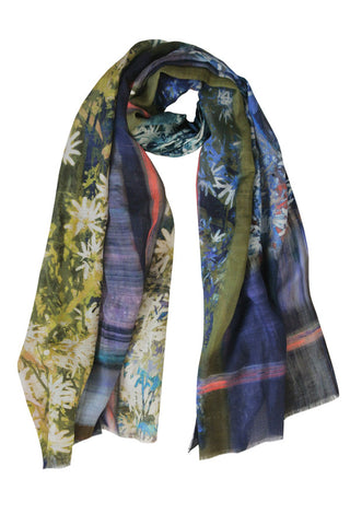 Window Box - (Linen/Silk) Scarf