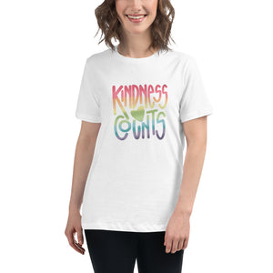 Kindness Counts Women's Relaxed T-Shirt