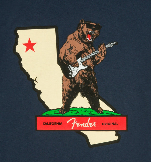 เสื้อยืด FENDER ROCKS CALI T-SHIRT
