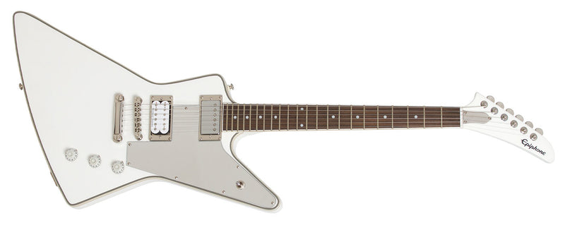 "กีต้าร์ไฟฟ้า Epiphone Tommy Thayer ""White Lightning"" Explorer"