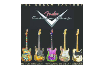 หนังสือกีต้าร์ FENDER THE DREAM FACTORY - FENDER CUSTOM SHOP