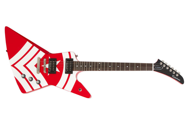 "​กีต้าร์ไฟฟ้า EPIPHONE LTD. ED. JASON HOOK ""M-4"" EXPLORER"
