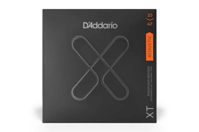 สายกีต้าร์โปร่ง DADDARIO XT ACOUSTIC STRING PHOSPHOR BRONZE LIGHT 10-47