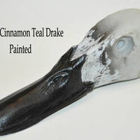 RT107 Cinnamon Teal Drake Head