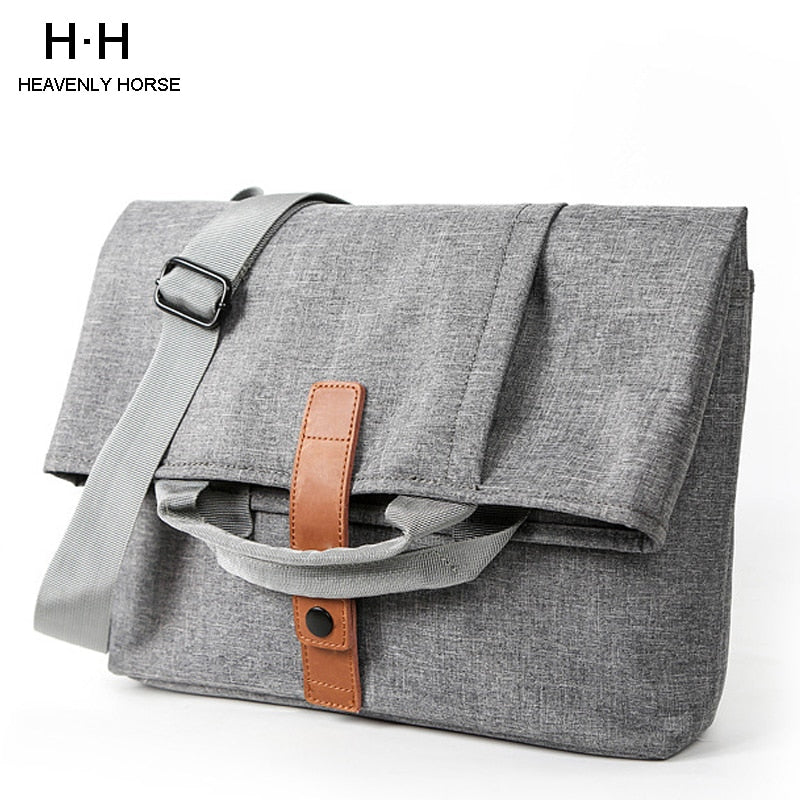 Men Bag Casual Grey Lightweight Oxford 13.1inch Laptop 9.7 iPad Tablet Crossbody Bag Male Small Messenger Bag Fashion Bagpack