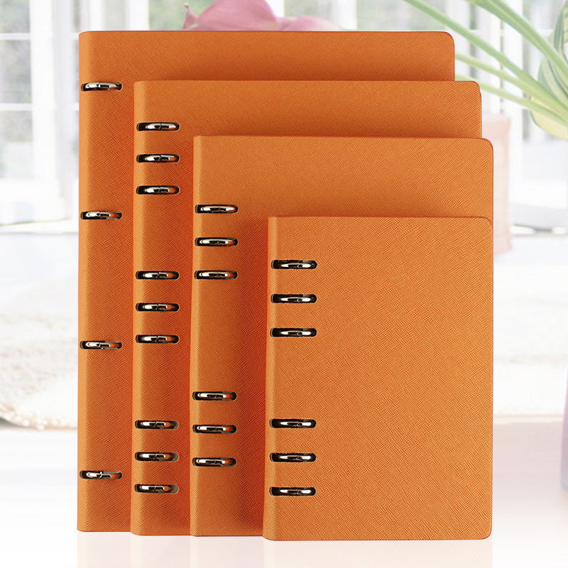RuiZe faux leather notebook A5 B5 A6 spiral notebook A4 planner ring binder loose leaf notepad agenda 2020 office note book