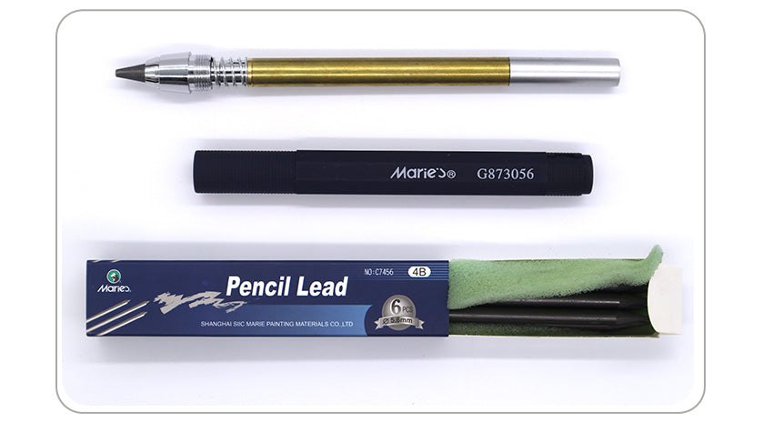 1PC 5.6mm Automatic Pencil Set 4B Pencil Lead for Mechanical Pencil Sketch Drawing Pencil Artist Art Supplies