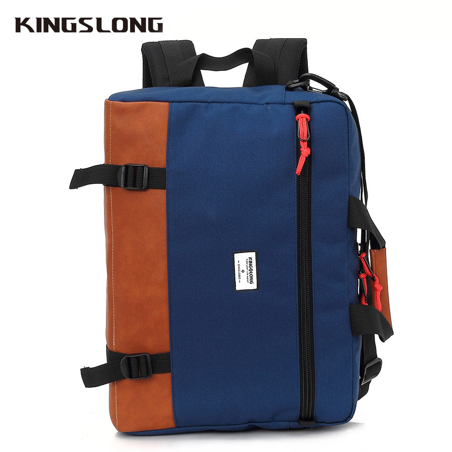 Kingslong Multi-function Men Briefcases 15.6 Inch Laptop Handbag Men's Business Crossbody Bag Messenger Shoulder Bags KLM1340R-6