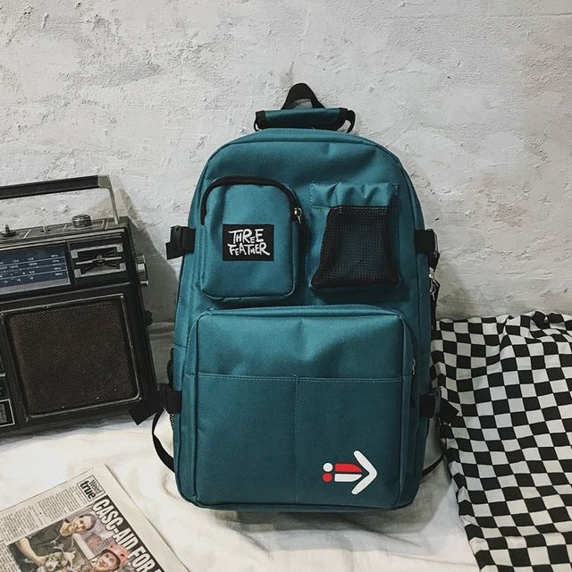 Large School Bags for Boys Teenage Student Backpack Men Women Bookbags big Cool Personality High Bag School Preppy Style 2020