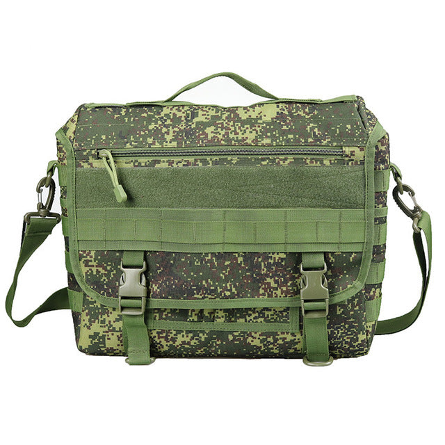 Molle Military Laptop Bag Tactical Messenger Bags Computer Backpack Fanny Belt Shouder Camping Outdoor Sports Army Bag XA156A
