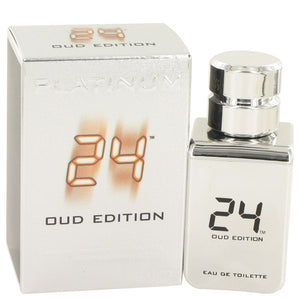 24 Platinum Oud Edition by Scentstory, Eau De Toilette Concentree Spray 1.7 oz