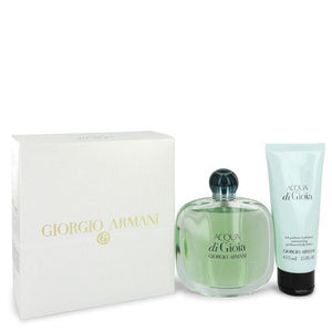 Acqua Di Gioia by Giorgio Armani, Gift Set - 3.4 oz Eau De Parfum Spray + 2.5 oz Body Lotion (Women)  --
