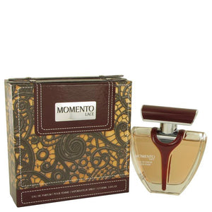 Armaf Momento Lace by Armaf, Eau DE Parfum Spray 3.4 oz - FragranceB&B