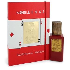 Cafe Chantant Exceptional Edition by Nobile 1942, Extrait De Parfum Spray (Unisex) (Women)  2.5 oz